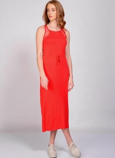 T-Box Elbise Kırmızı